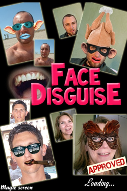 FUNNY FACE ECARDS – FACE DISGUISE