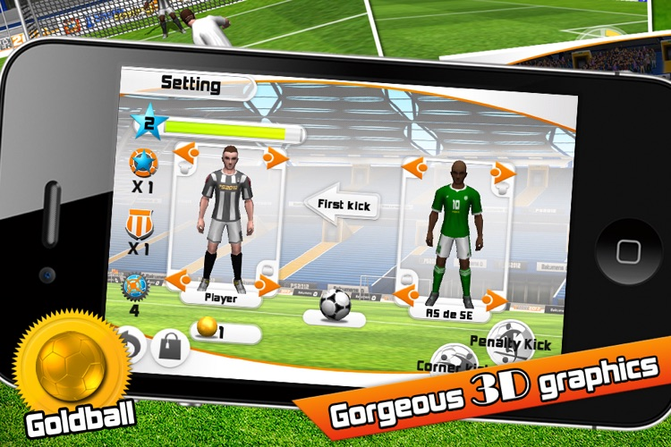 Penalty Soccer 2012 screenshot-1