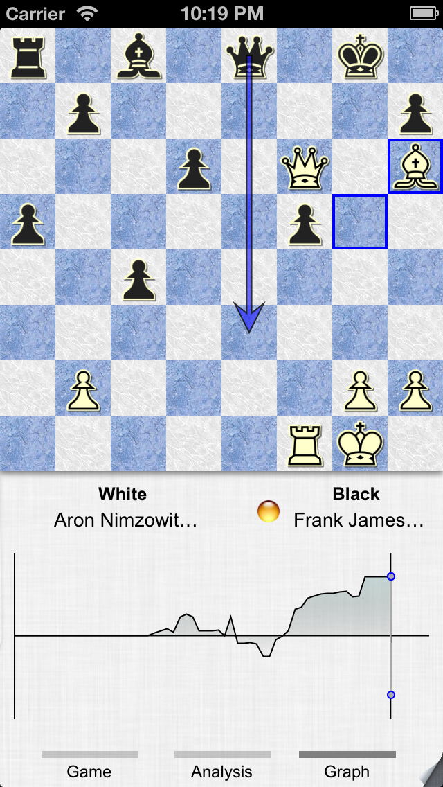 Screenshot #1 pour SmallFish Chess For iOS 6 - Free & Friends