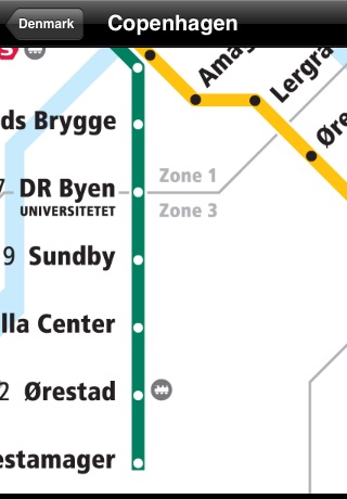 Denmark Subway Maps (Copenhagen) screenshot-2