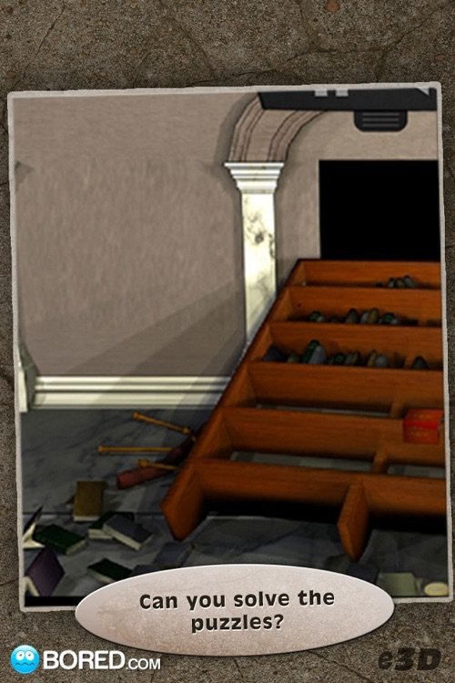Escape 3D: Library screenshot-3