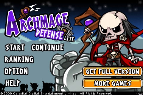 Archmage Defense Lite