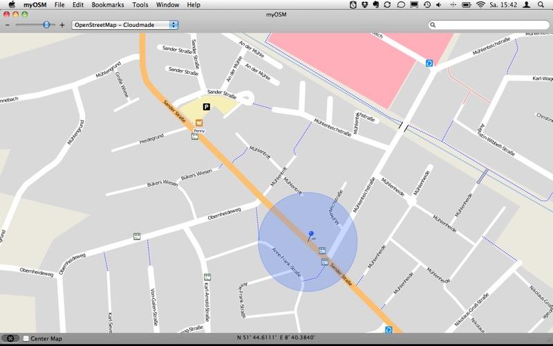 myOSM скриншот программы 1