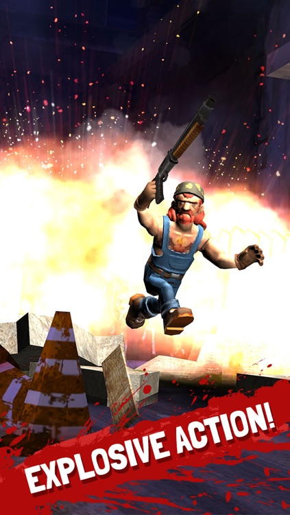 Running Zombie War: Killing Dead - by Fun Games For Free screenshot-0
