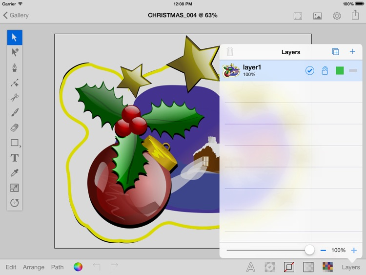 Vector Paint with DropBox sync screenshot-3