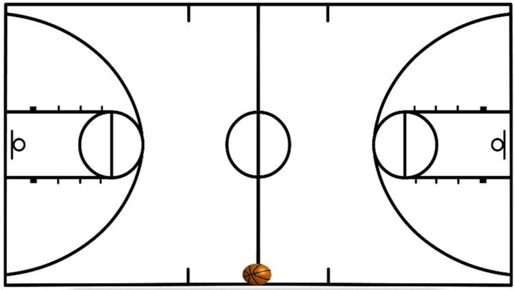 Basketball Coach Diagram