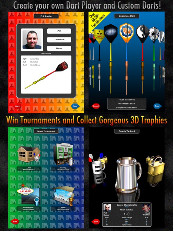 Bulls i 3D Darts HD screenshot-1