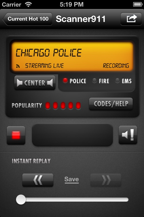 Scanner911 Police Radio screenshot-0