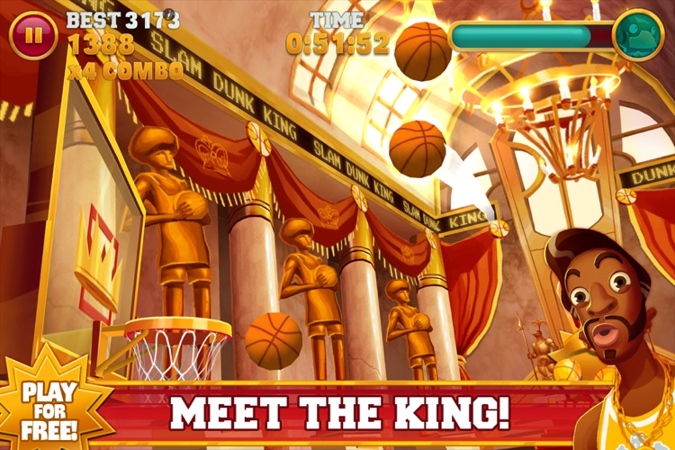 Slam Dunk King screenshot-3