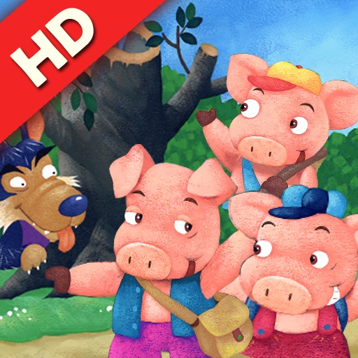 The Three Little Pigs: HelloStory - Lite