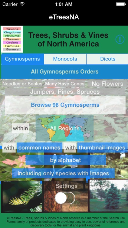 Trees, Shrubs and Vines of North America - eTreesNA - A Tree App screenshot-0