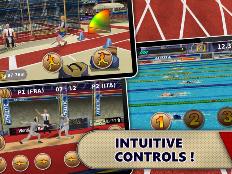 Athletics: Summer Sports HD screenshot-4