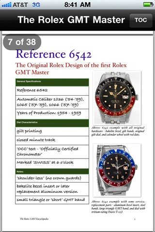 ROLEX GMT MASTER ENCYCLOPEDIA screenshot-3
