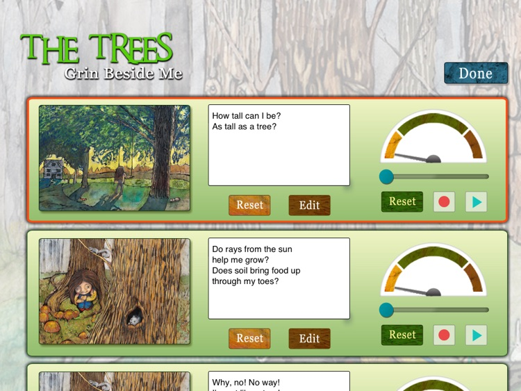"""The Trees Grin Beside Me: Learn about the beauty of nature in this poetic book written by Michelle Macdonald and  illustrated by Leah Davis (""""Lite""""/ free version; an Auryn App) screenshot-3"""