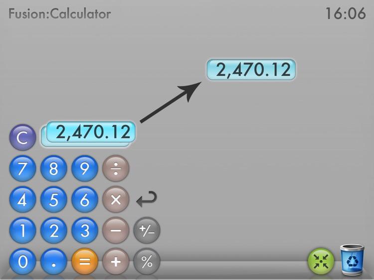 Fusion Calculator for iPad