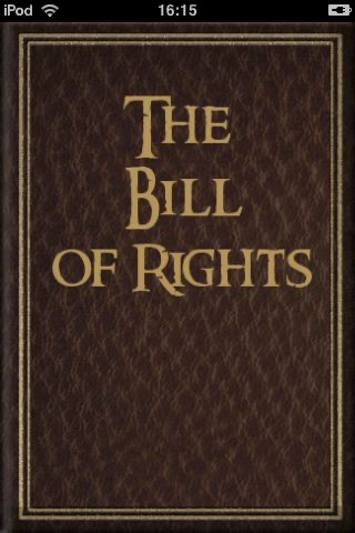 The Bill of the Rights