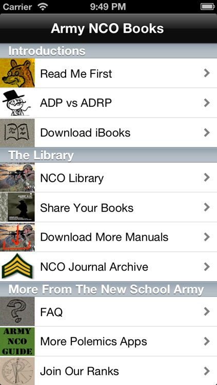 NCO Books screenshot-0
