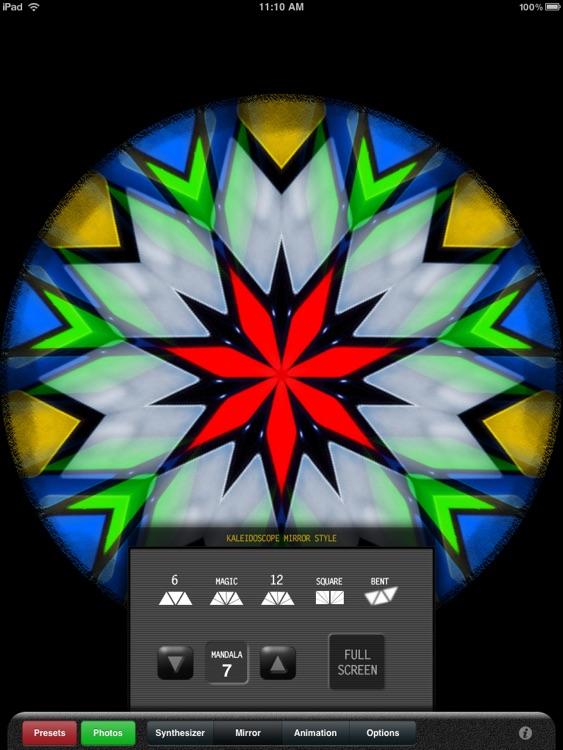 Kaleidoscope X for iPad