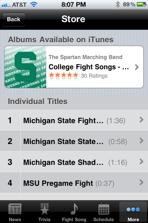 Michigan State Spartans Football screenshot-4