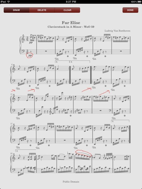 PDF Sheet Music Reader