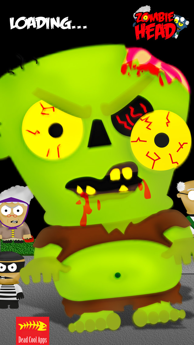 A Zombie Head Free HD - Virus Plague Outbreak Runのおすすめ画像1