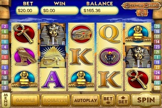 Egyptian Dreams 4 Slots screenshot1