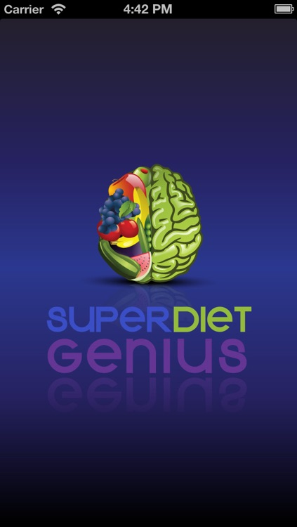 Super Diet Genius | Lose Weight with Superfoods screenshot-0