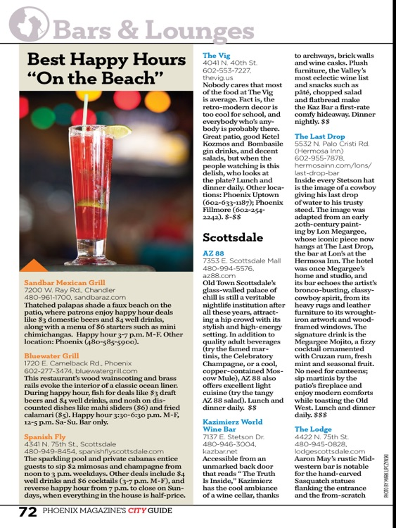 Phoenix Magazine 2014 City Guide screenshot-1