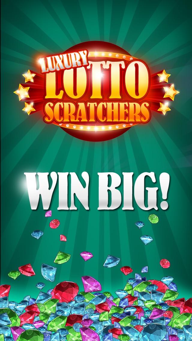 Luxury Lotto Scratchers Free - Reveal Lucky Winning