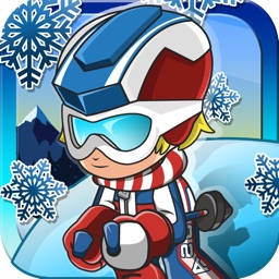 Winter Games Mountain Skiing - Go For The Gold