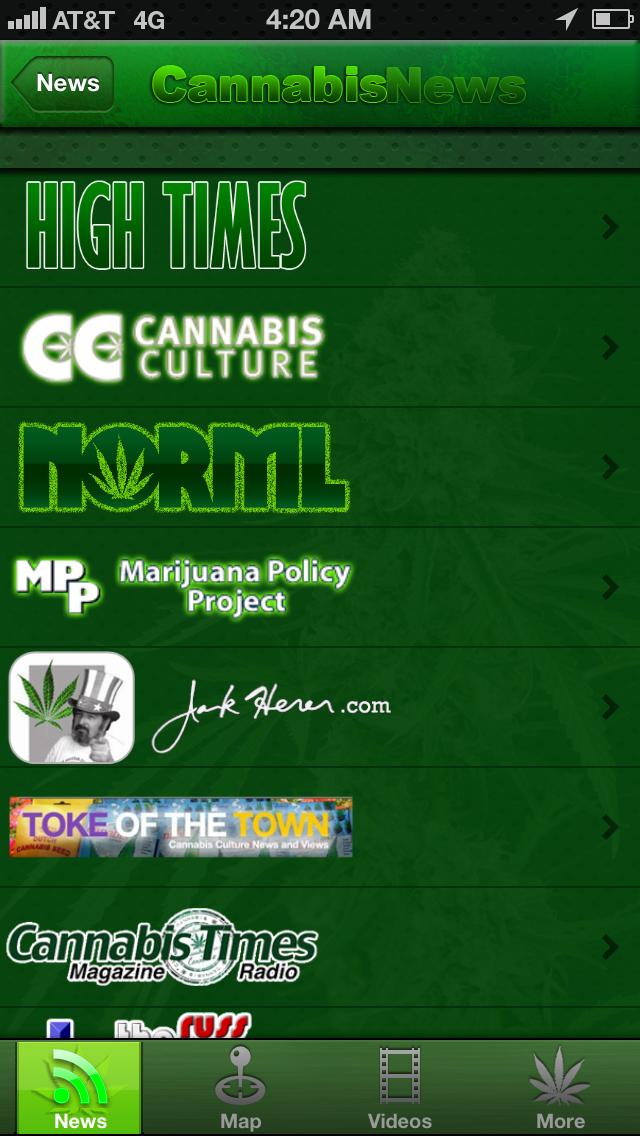 Cannabis News Pro review screenshots