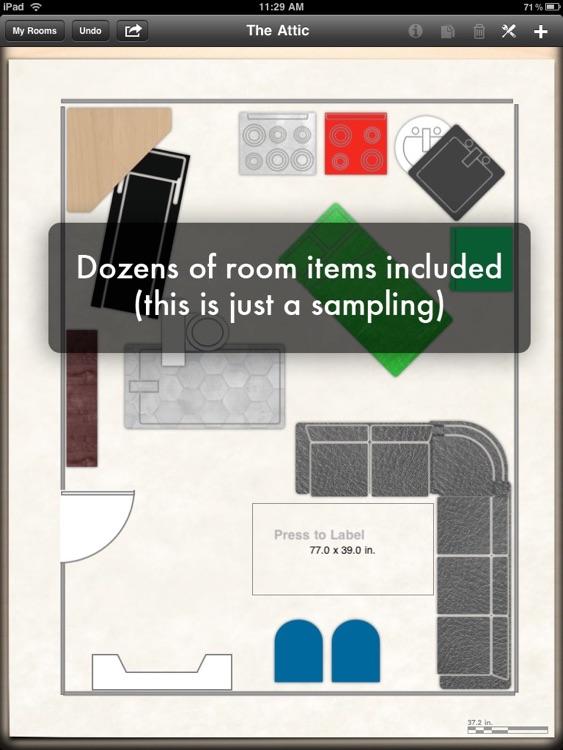 LivingRoom for iPad - Floor Plans & Interior Design screenshot-4