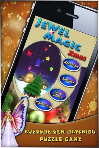 Jewel Magic Xmas screenshot one