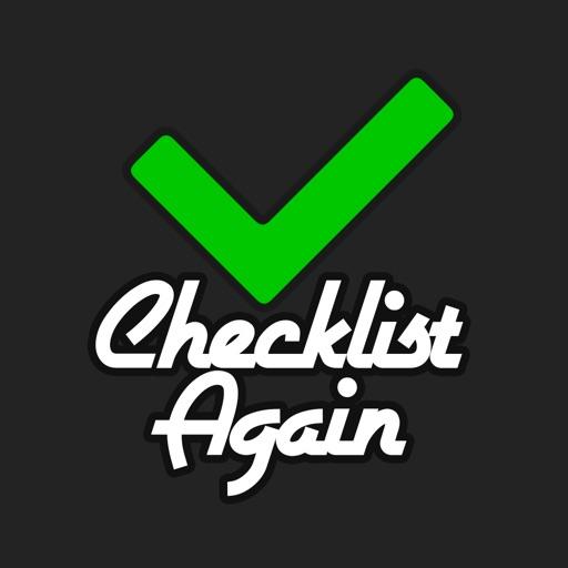 Checklist Again!