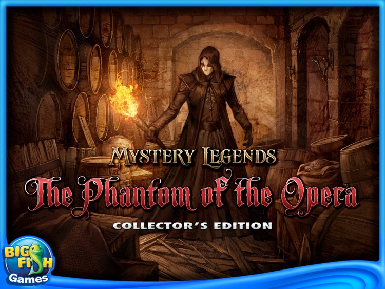 Phantom of the Opera: Mystery Legends Collector's Edition HD