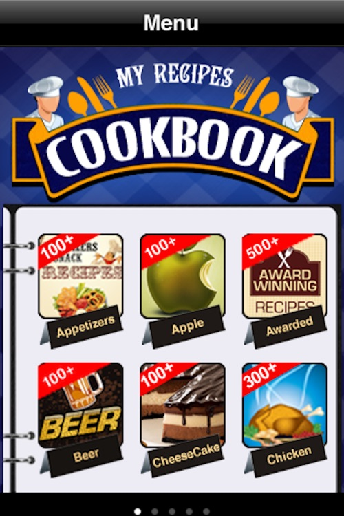 My Recipes Cookbook screenshot-0