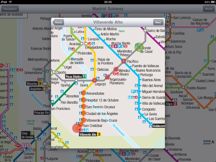 Madrid Subway for iPad screenshot-3