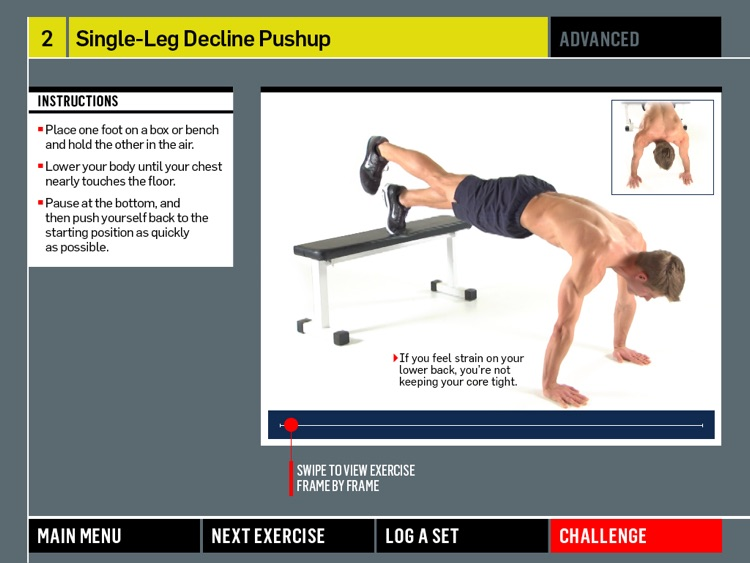 Men's Health Pushup Challenge screenshot-3