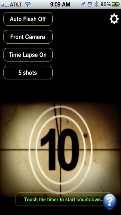 iTimerCam - Easy self timer for photos