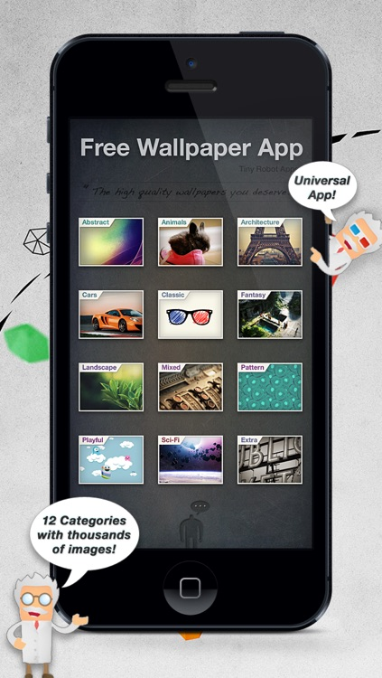 The Free Wallpaper App For Ios 7 And Ios 6 Universal App
