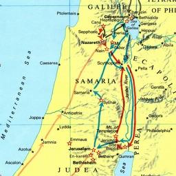 Bible Maps, Carta Atlas