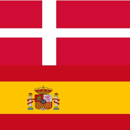 Danish - Spanish - Danish dictionary