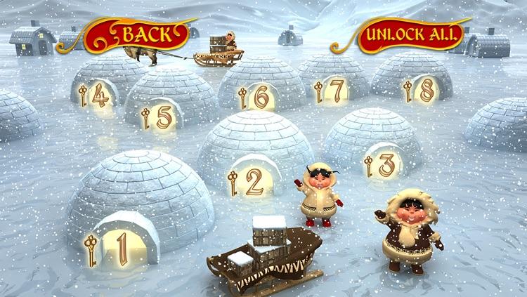 Santa's Reindeer Hunt - Mega 3D Christmas Maze screenshot-3