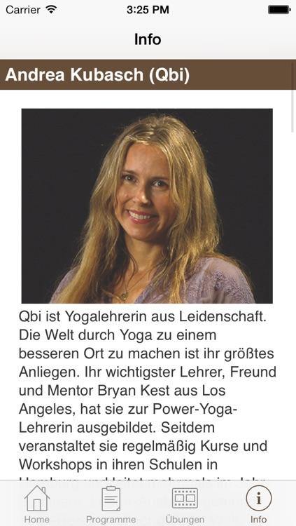 Brigitte Fitness - Power Yoga screenshot-4