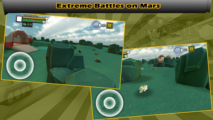 Tank War 3D : Heavy Armor screenshot-4