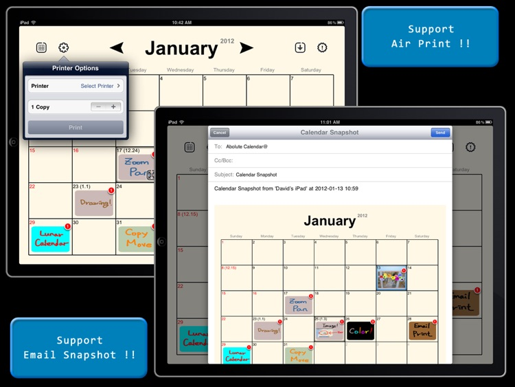 Absolute Board Calendar screenshot-3