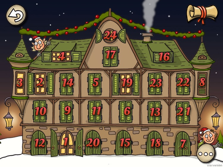Christmas Story for Kids: The Elf Adventure screenshot-2