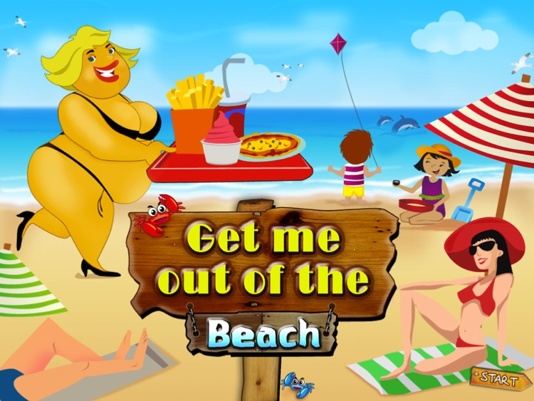 Get me out of the beach HD FREE , the hot summer traffic and puzzle game screenshot-0
