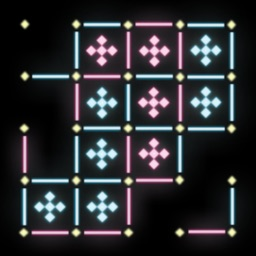 Dots and Boxes Neon