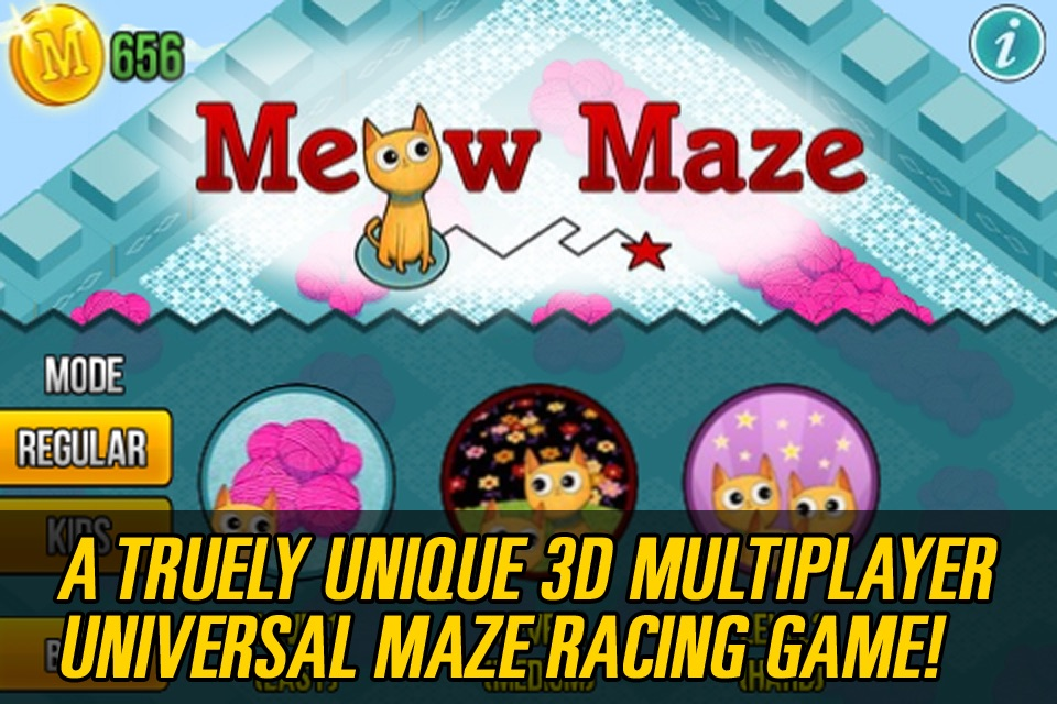 Meow Maze Free Game 3d Live Racing